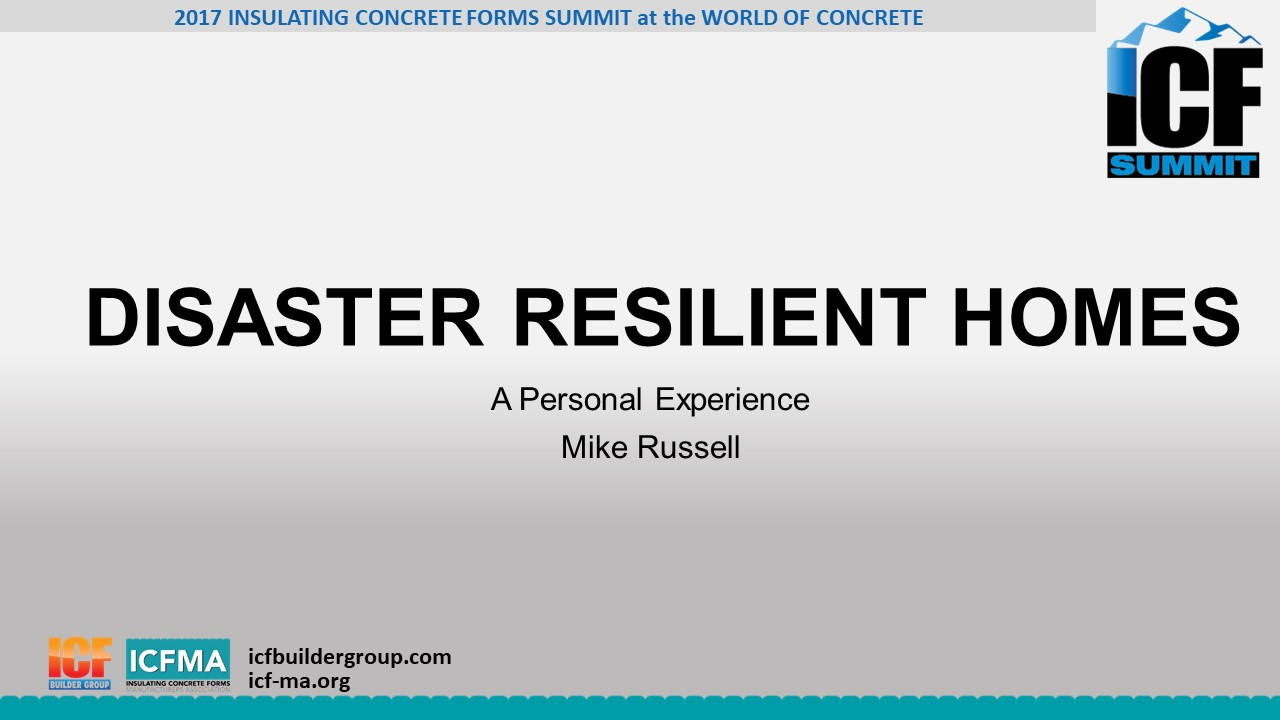 Disaster Resilient Homes