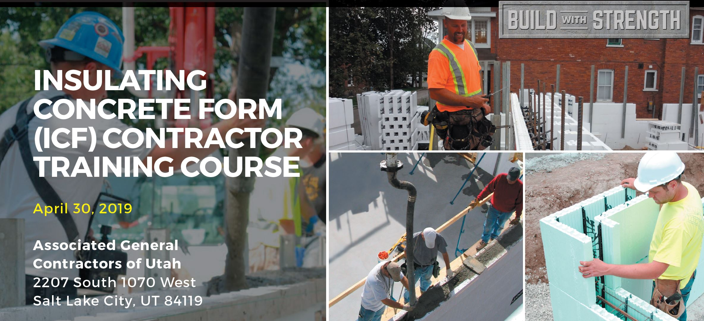 ICF Contractor Training Course (April 30 in Utah) - ICFMA